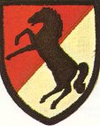 Shoulder Patch - 11th Armored Cavalry Regiment